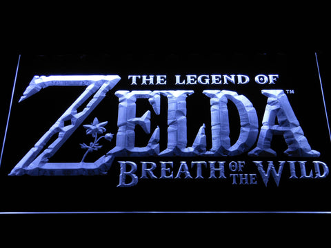 Image of The Legend of Zelda Breath of the Wild LED Neon Sign - White - SafeSpecial