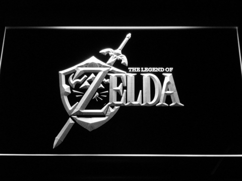 Image of The Legend of Zelda LED Neon Sign - White - SafeSpecial