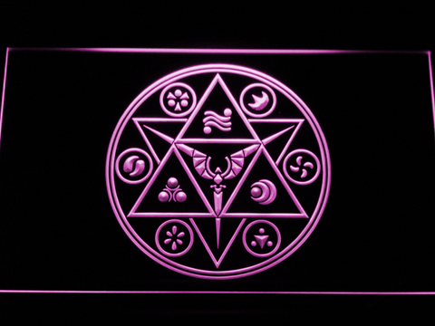 Image of The Legend of Zelda Ocarina of Time LED Neon Sign - Purple - SafeSpecial
