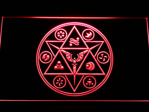 Image of The Legend of Zelda Ocarina of Time LED Neon Sign - Red - SafeSpecial
