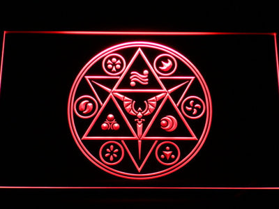 The Legend of Zelda Ocarina of Time LED Neon Sign - Red - SafeSpecial
