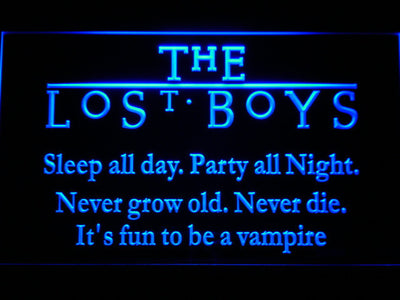 The Lost Boys LED Neon Sign - Blue - SafeSpecial