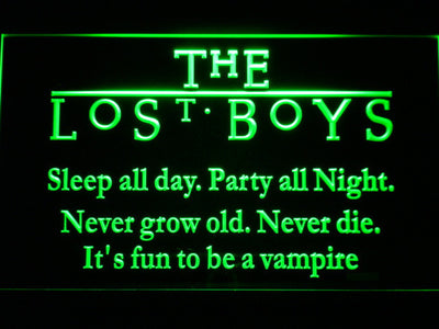 The Lost Boys LED Neon Sign - Green - SafeSpecial