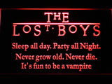 The Lost Boys LED Neon Sign - Red - SafeSpecial