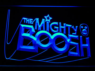 The Mighty Boosh LED Neon Sign - Blue - SafeSpecial