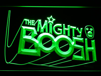 The Mighty Boosh LED Neon Sign - Green - SafeSpecial