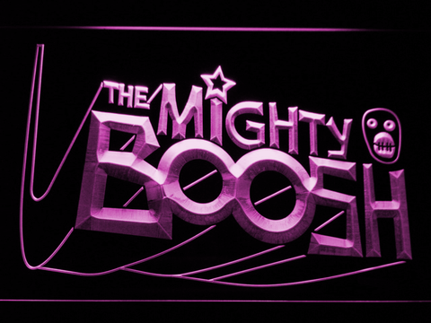 Image of The Mighty Boosh LED Neon Sign - Purple - SafeSpecial
