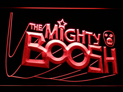 The Mighty Boosh LED Neon Sign - Red - SafeSpecial