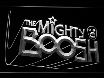 The Mighty Boosh LED Neon Sign - White - SafeSpecial