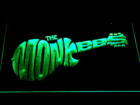 The Monkees LED Neon Sign - Green - SafeSpecial