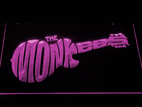 The Monkees LED Neon Sign - Purple - SafeSpecial