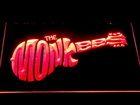 The Monkees LED Neon Sign - Red - SafeSpecial