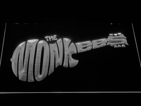 The Monkees LED Neon Sign - White - SafeSpecial
