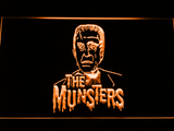 The Munsters Herman LED Neon Sign - Orange - SafeSpecial