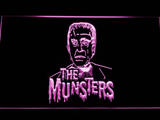 The Munsters Herman LED Neon Sign - Purple - SafeSpecial