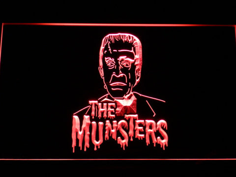 The Munsters Herman LED Neon Sign - Red - SafeSpecial