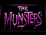 The Munsters LED Neon Sign - Purple - SafeSpecial