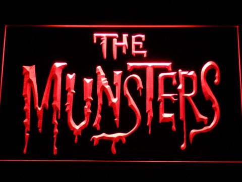 Image of The Munsters LED Neon Sign - Red - SafeSpecial