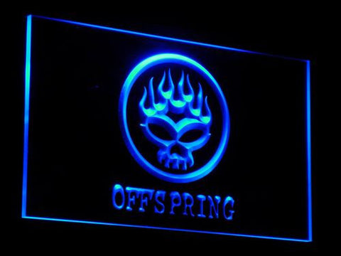 The Offspring LED Neon Sign - Blue - SafeSpecial