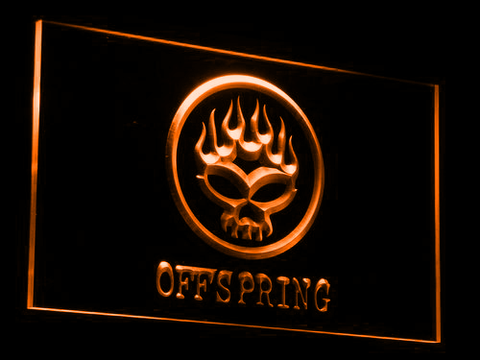 The Offspring LED Neon Sign - Orange - SafeSpecial