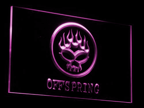 The Offspring LED Neon Sign - Purple - SafeSpecial
