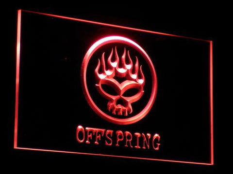 The Offspring LED Neon Sign - Red - SafeSpecial