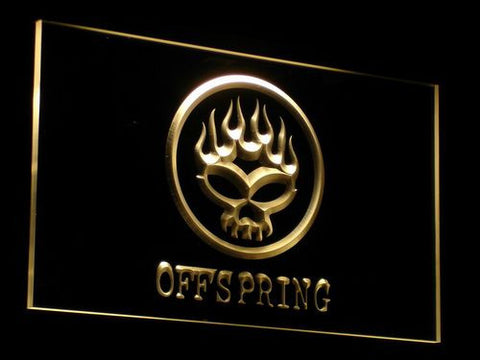 The Offspring LED Neon Sign - Yellow - SafeSpecial
