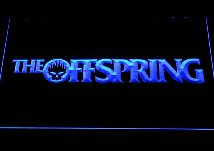 The Offspring Wordmark LED Neon Sign - Blue - SafeSpecial