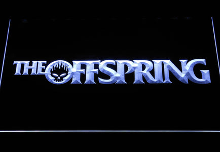 The Offspring Wordmark LED Neon Sign - White - SafeSpecial