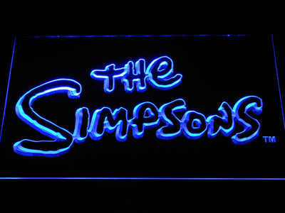 The Simpsons LED Neon Sign - Blue - SafeSpecial