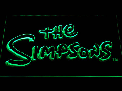 The Simpsons LED Neon Sign - Green - SafeSpecial