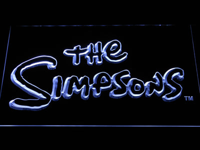 The Simpsons LED Neon Sign - White - SafeSpecial