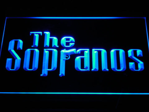 Image of The Sopranos LED Neon Sign - Blue - SafeSpecial
