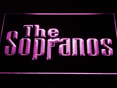 The Sopranos LED Neon Sign - Purple - SafeSpecial