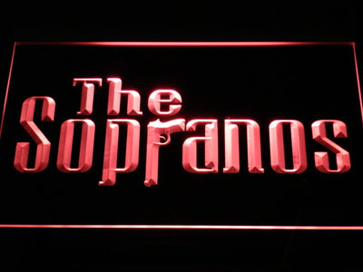The Sopranos LED Neon Sign - Red - SafeSpecial