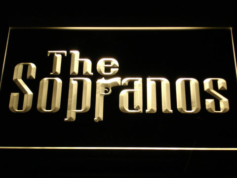 Image of The Sopranos LED Neon Sign - Yellow - SafeSpecial