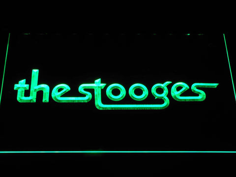 The Stooges LED Neon Sign - Green - SafeSpecial
