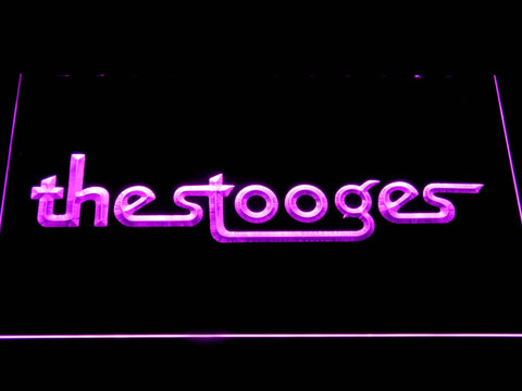 The Stooges LED Neon Sign - Purple - SafeSpecial