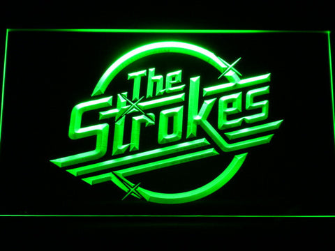 The Strokes LED Neon Sign - Green - SafeSpecial