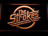 The Strokes LED Neon Sign - Orange - SafeSpecial
