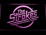The Strokes LED Neon Sign - Purple - SafeSpecial