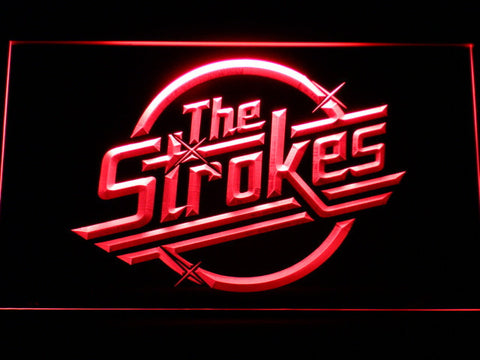 The Strokes LED Neon Sign - Red - SafeSpecial