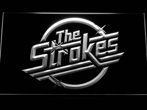 The Strokes LED Neon Sign - White - SafeSpecial