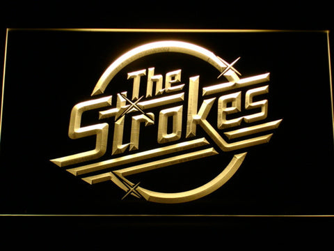 The Strokes LED Neon Sign - Yellow - SafeSpecial