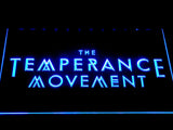 The Temperance Movement LED Neon Sign - Blue - SafeSpecial