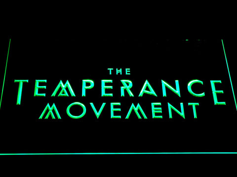 The Temperance Movement LED Neon Sign - Green - SafeSpecial