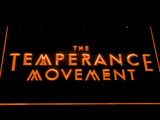 The Temperance Movement LED Neon Sign - Orange - SafeSpecial