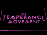 The Temperance Movement LED Neon Sign - Purple - SafeSpecial
