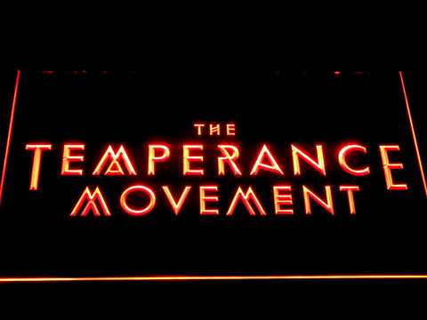 The Temperance Movement LED Neon Sign - Red - SafeSpecial
