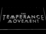 The Temperance Movement LED Neon Sign - White - SafeSpecial